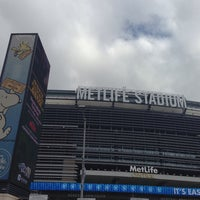 Photo taken at MetLife Stadium by Rob H. on 10/13/2013