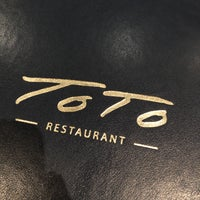 Photo taken at Toto Restaurant by Rob H. on 5/5/2018