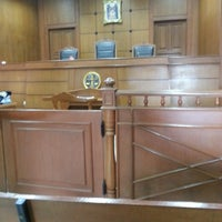 Photo taken at Samuthsakron Court by ♪♥★ⓒⓗⓐⓣⓒⓗⓐⓡⓘⓝ★♥♪ on 7/15/2013