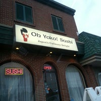 Photo taken at Oh Yoko by John D. on 8/31/2013