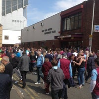Photo taken at West Ham Utd Supporters Club by Toni M. on 5/20/2013