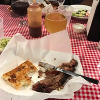 Photo taken at Mission Street Barbecue by Ned H. on 1/14/2017