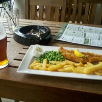 Photo taken at The Gate Clock (Wetherspoon) by Pablo M. on 6/7/2013