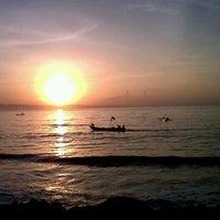 Photo taken at Pantai Pangandaran by Gek_Vi on 5/1/2013