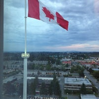 Photo taken at Sheraton Vancouver Guildford Hotel by Juan F. on 6/17/2013