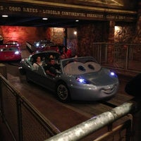 Photo taken at Radiator Springs Racers by Amy H. on 3/1/2013