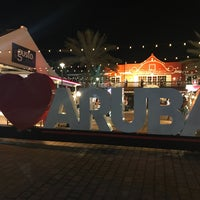 """Photo taken at """"I Love Aruba"""" Sign by Lindsay L. on 5/17/2017"""