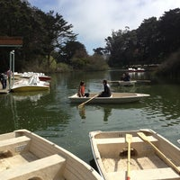 Photo taken at Stow Lake Boat House by David S. on 3/3/2013