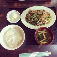 Photo taken at まんぷく食堂 by ひげ 親. on 4/20/2014