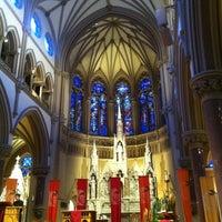 Photo taken at Saint Francis Xavier College Church by Brett S. on 5/18/2013