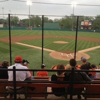 Photo taken at Allie P. Reynolds Baseball Stadium by Andrew P. on 5/17/2013