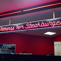 Photo taken at Steak 'n Shake by Frank T. on 2/14/2013