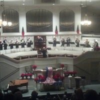 Photo taken at First Church of Oberlin by W. Mark C. on 12/18/2012