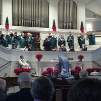 Photo taken at First Church of Oberlin by W. Mark C. on 12/9/2012