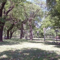Photo taken at Parque Urquiza by Ale M. on 11/17/2013