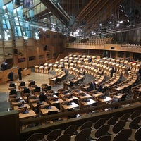Photo taken at Scottish Parliament by Paul H. on 6/1/2017