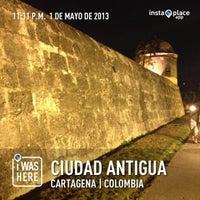 Photo taken at Centro Histórico de Cartagena / Ciudad Amurallada by Daniel L. on 5/2/2013