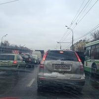 Photo taken at Ryazansky Avenue by Nathalie🌸 on 3/20/2013