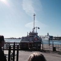 Photo taken at HSL 0099 Kauppatori (Suomenlinnan lautan terminaali) by Nathalie🌸 on 4/26/2014