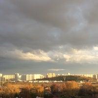 Photo taken at Микрорайон «Кожухово» by Nathalie🍁 on 10/23/2016