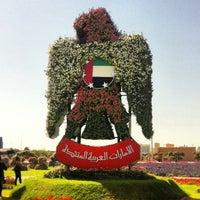 Photo taken at Dubai Miracle Garden by Ayesha B. on 4/9/2013