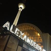 Photo taken at Bahnhof Berlin Alexanderplatz by Katja S. on 12/31/2012
