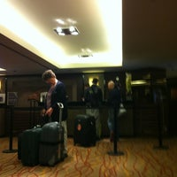 Photo taken at Sheraton Brussels Airport Hotel by Alain S. on 10/13/2012
