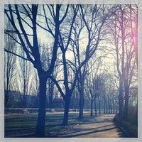 Das Foto wurde bei Rossauer Lände von karin am 1/13/2014 aufgenommen