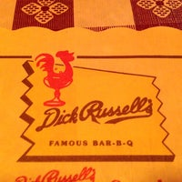 Photo taken at Dick Russell's Bar-B-Q by TurkReno on 12/9/2012