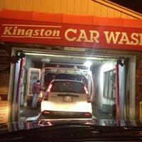 Photo taken at Kingston Car Wash by Greg on 1/7/2014