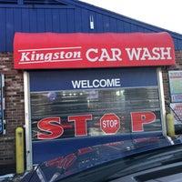 Photo taken at Kingston Car Wash by Greg on 2/14/2017