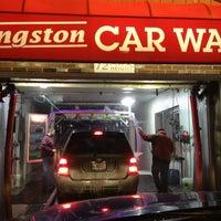 Photo taken at Kingston Car Wash by Greg on 1/8/2013