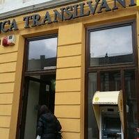 Photo taken at Banca Transilvania by Iulia C. on 3/22/2016