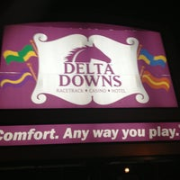 Photo taken at Delta Downs Racetrack, Casino & Hotel by Daveed V. on 2/16/2013