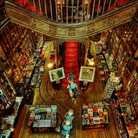 Photo taken at Livraria Lello by robert v. on 7/16/2013
