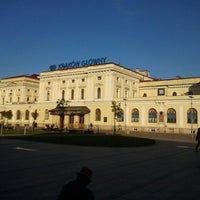 Photo taken at Kraków Główny by Dominik S. on 10/17/2012