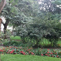 Photo taken at Osgoode Hall Park by Adela F. on 8/6/2017