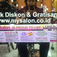 Photo taken at My Salon by Dian A. on 1/1/2014