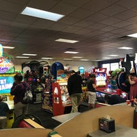 Photo taken at Chuck E. Cheese's by Erin B. on 3/24/2017