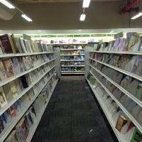 Photo taken at Jarir Bookstore by Ghadah on 2/26/2013