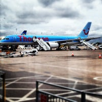 Photo taken at East Midlands Airport by Billy M. on 10/6/2012
