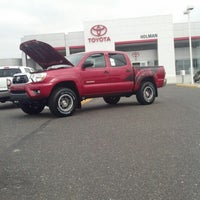 Photo taken at Holman Toyota Scion by Jennifer D. on 10/26/2012