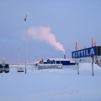 Photo taken at Kittilä Airport (KTT) by Annie L. on 1/17/2013