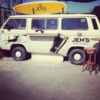 Photo taken at Jem's Beer Factory by Hillel F. on 2/20/2013