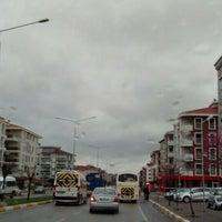 Photo taken at Savaştepe Caddesi by Günah E. on 3/14/2016