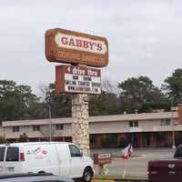 Photo taken at Gabby's BBQ by Mike M. on 2/9/2014