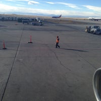 Photo taken at Gate B16 by Mike M. on 12/17/2012