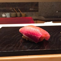 Photo taken at Sushi Tokami by francis o. on 1/28/2017