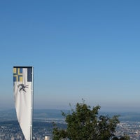Photo taken at Uetliberg Aussichtsturm by Lioninside on 9/16/2012