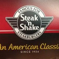 Photo taken at Steak 'n Shake by Kasey W. on 8/1/2013
